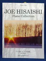Joe Hisaishi Piano Collection Solo Sheet Music Japan Book Studio Ghibli Totoro