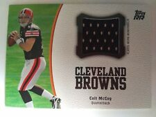 2011 Topps Rising Rookies Colt McCoy Cleveland Browns Texas - Jersey