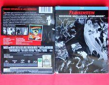 blu ray disc steelbook frankenstein boris karloff rare metalbox alex ross horror
