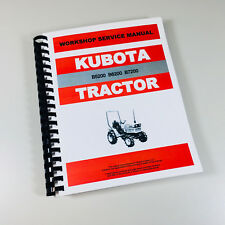 Heavy equipment parts accessories for kubota ebay kubota b6200 b6200e b6200d tractor service repair manual technical shop book fandeluxe