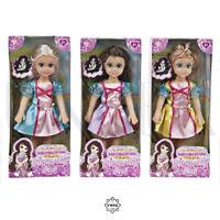 Princess My Pretty Girl - Girls Hair Play Doll with Dress Kid Christmas Toy Doll