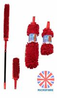 Telescopic Microfibre Duster Extendable Long Feather Hand Cleaning Dusters