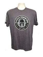 2014 Reebok Spartan Trifecta Qualifier Finisher Adult Medium Gray TShirt