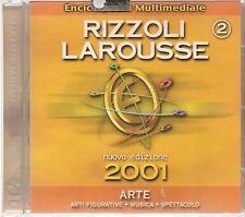 ENCICLOPEDIA MULTIMEDIALE RIZZOLI LAROUSSE - 2 ARTE - CD ROM