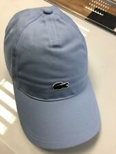 Lacoste Cotton Cap . Baby Blue