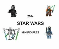 Lego Star Wars Minifigures Blocks Clone Darth Vader Kylo Ren Mandalorian Yoda