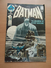 DC: BATMAN #227, SIGNED BY NEIL ADAMS ON THE COVER, CLASSIC COVER, 1970, VG-!!!