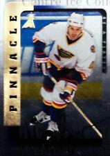 1996-97 Be A Player Auto Silver #85 Marc Bergevin