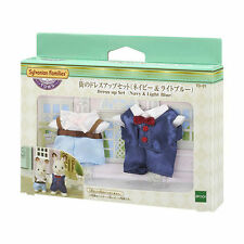 Epoch Sylvanian Family Town Series City Dressup Set Navy & Light Blue Td-01