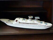 RARE 1970 Borghini's Michelangelo Cruise Ship Vino Rosso Wine Decanter w/Label