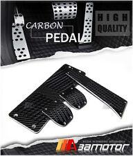 Carbon Fiber Manual MT Pedal Set for E39 525i 528i 530i & M5 w/ 24CM Gas Pedals
