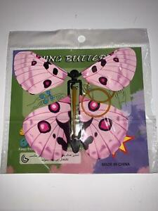 Magic Flying Wind Up Butterfly For Birthday or Wedding Greeting Card Butterflies