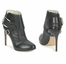 Ankle 100% Leather Slim Heel Casual Shoes for Women