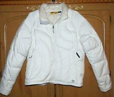 Mountain Hardwear Women's Ivory Off White Down Puffer Coat-Sz Lg-EUC