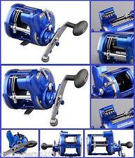 Spro Offshore Pro Blue 4300 4500 RH Rechtshand Multirolle Meter Zählwerk NEW OVP