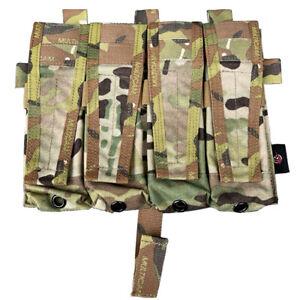 Quadruple Mag Bag Pouch Panel Front Panel for AVS Tactical Vest