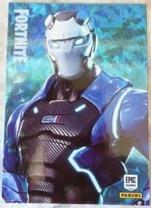 CRYSTAL Trading Cards FORTNITE Serie 1: 254 CARBIDE