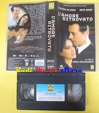film VHS L'AMORE RITROVATO 2004 accorsi sansa mazzacurati MEDUSA (F34 )no dvd