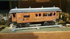 """BING échelle 1 wagon à boggies toits ouvrant à lanterneau""""Baggage-Express-Gepack"""