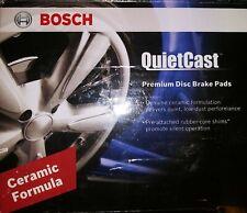 Bosch BC905 QuietCast Rear Ceramic brake Pads for Hardware Disc Kit Set Braking