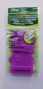 Clover Double Pointed Needle Protectors Large 3154