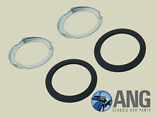 JAGUAR XJ6, XJ12, XJS, XJ40 FUEL TANK SENDER UNIT LOCK RINGS & SEALS x 2