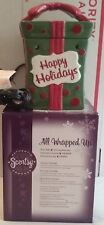 NEW Authentic FULL-SIZE Scentsy Warmer All Wrapped Up HOLIDAY COLLECTION NIB