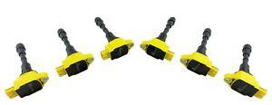 6 Ignition Coil Packs for 370Z EX37 FX37 FX50 G37 M37 Q40 Q60 Q70 Q70L QX50 QX70