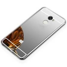 MIROIR / Pare-chocs en aluminium argent pour Xiaomi Redmi 5 plus étui housse