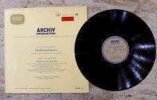 ARCHIV PRODUKTION Hochrenaissance / Kanzonen und Sonaten DGG 198 042 Wenzinger