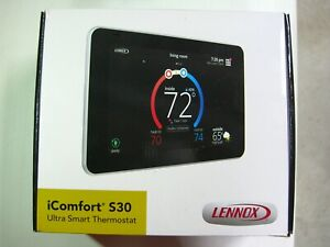 Lennox 12U67 iComfort S30 WiFi Touchscreen Smart Thermostat - UsedTested