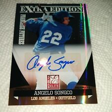 Angelo Songco 2011 Elite Extra Franchise Futures AUTOGRAPH #25 Dodgers *467/864*