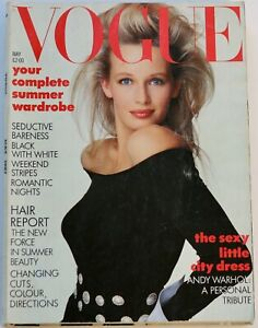 1987 May Vogue 80s vintage magazine fashion beauty hair