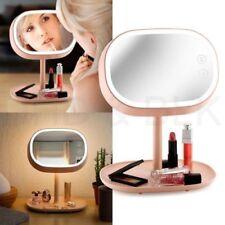 Espejos de maquillaje espejo de pie rosas