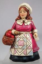 Jim Shore 'Mini Pilgrim Woman' Adorable Mini Figurine #4034448 New!