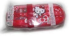Hello Kitty SLIM LUNCH BOX W/ TRIO SET