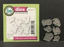 Halloween Mini Ghosts metal die cut stencil Impression Obsession Dies DIE327-C