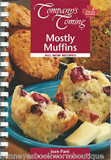 MOSTLY MUFFINS Jean Pare COMPANY'S COMING Cookbook RECIPES Baking QUICK Breads