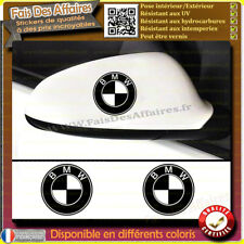 2 Stickers Autocollant BMW RETROVISEUR vitre carrosserie m3