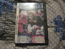 Everton Vs Liverpool 2-0 Oct 18th 1997 (VHS To Dvd)