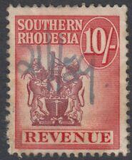 Rhodesia meridionale: 1954 10 / - ricavi TIMBRO metto 37 PEN annullato