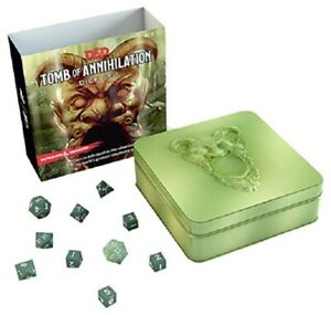 D&D 5th Edition - Tomb of Annihilation Dice Set - Rpg - Dungeons & Dragons - New