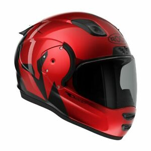 CASQUE ROOF RO200 TROYAN ROUGE TAILLE M NEUF