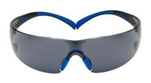 3M SecureFit Safety Glasses SF402SGAF-BLU Blue/Gray Scotchgard Anti-fog Lens