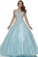 NEW SWEET 16 CINDERELLA DRESSES QUINCEANERA BALL GOWNS BRIDE DESTINATION WEDDING