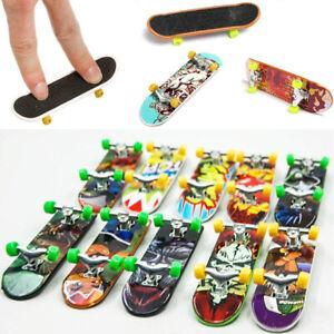Mini Finger Board Tech Deck Truck Skateboard Boy Kids Party Toy Funny Gift Y