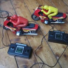Honda GX500 Turbo Vintage Wired Remote Control Toy Motorbikes x2 80s? 90s?