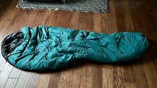 REI 3 Season Sleeping Bag Adult Man Green/Black Color Used Very Clean