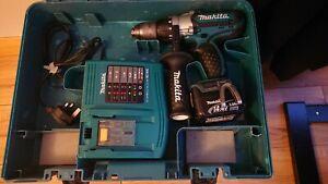 Makita 14.4V Cordless Hammer Drill