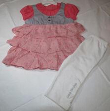 Calvin Klein 4T 4 Toddler girls 2 pc set Dress pants leggings 3722678-99 NWT*^